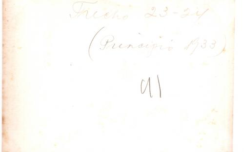Verso 1933