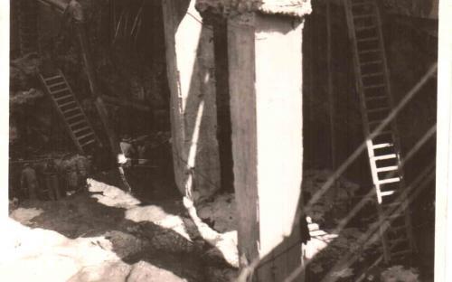 Frente - Pilares de sustentação (11/11/1932)