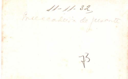 Verso - Ensecadeira de jusante (11/11/1932)