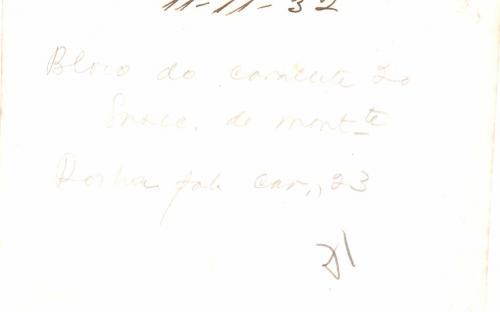 Verso - 11/11/1932