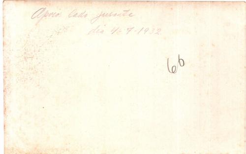 Verso - 04/07/1932
