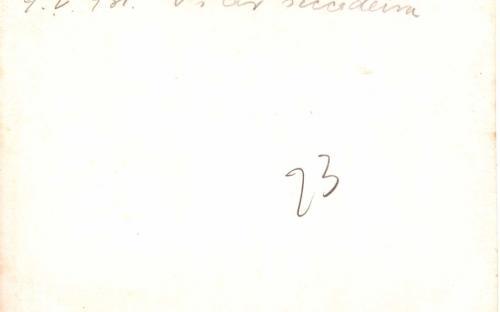 Verso - 09/05/1931