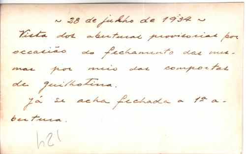Verso - 28/07/1934