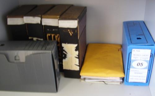 Alguns documentos do arquivo
