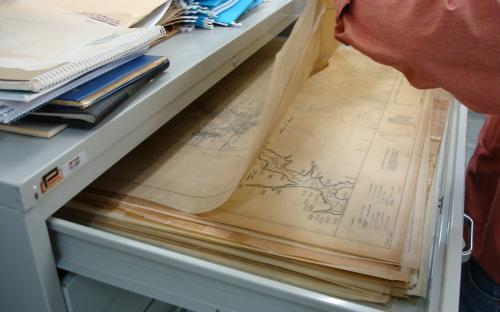 arquivo do patrimonio mapas