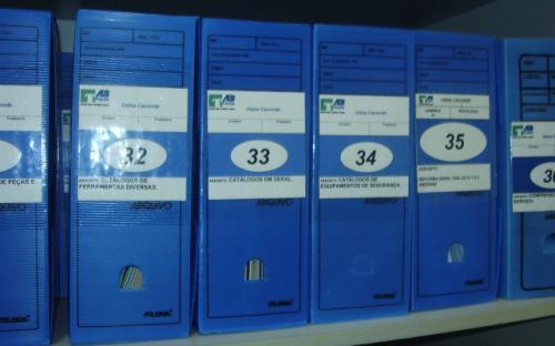 caixas de arquivo - arquivo técnico