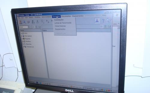 demonstração do sistema digitalizado