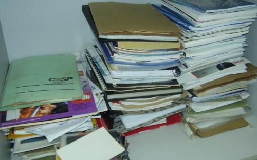 Documentos arquivo técnico
