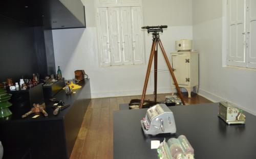 """Vista parcial da """"Sala CPFL"""" do Museu Histórico"""