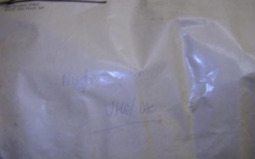 envelope com fotografias - arquivo morto