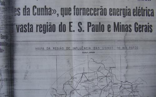 Jornal da época da Inauguração da usina de Limoeiro