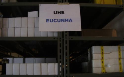 Materiais da UHE Euclides da Cunha