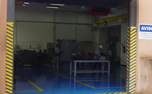 Oficina Mecânica - entrada