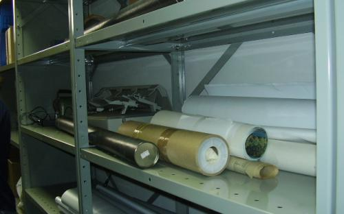 outros materiais no arquivo técnico interno da UHE Mogi Guaçu