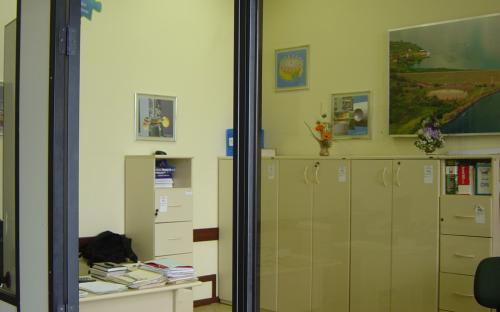 recepção - porta direita
