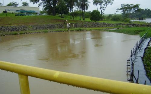 Reservatorio UHE Mogi Guaçu