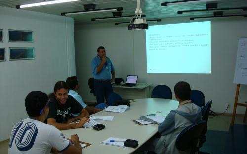 sala da CIPA treinamento