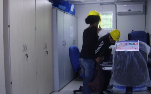 Sala do arquivo técnico