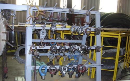 Sala de depósito de materiais